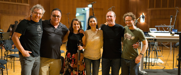 my crew from the orchestra recording session in Vienna