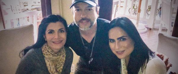 Natascha Hagen, Edgar Cortázar and Norma Duran