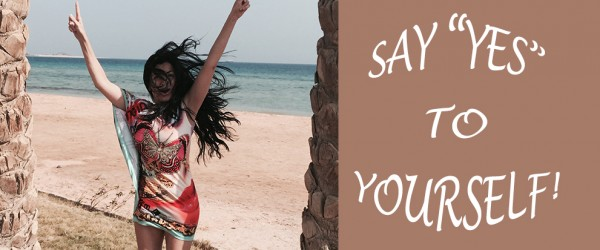 """Say """"yes"""" to yourself - Natascha Hagen"""